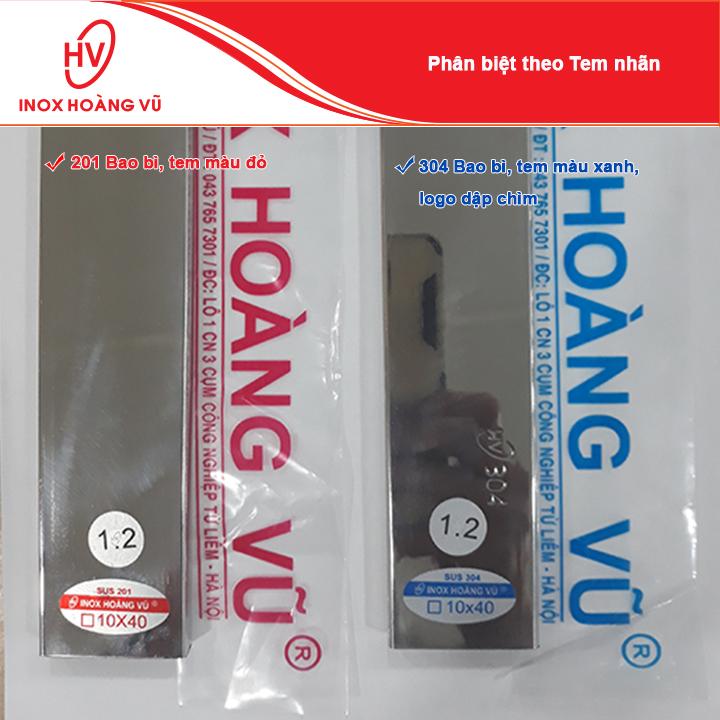4 phương pháp phân biệt INOX 304 và 201